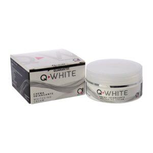 Crema Sbiancante Q-White - Trattamento Macchie della Pelle e Ipercromia