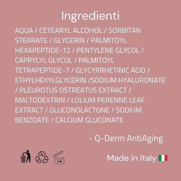 Ingredienti Q-Derm AntiAging