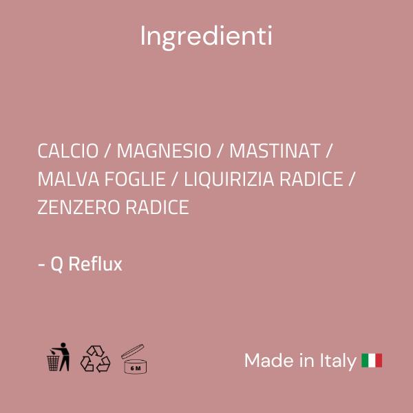Q Reflux Ingredienti